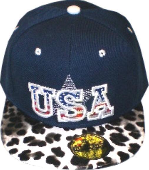 Cap IQ1334 - Cap - Basecap - Snapcap mit USA bestickt