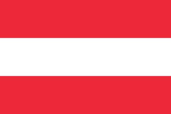 Länderfahne Österreich