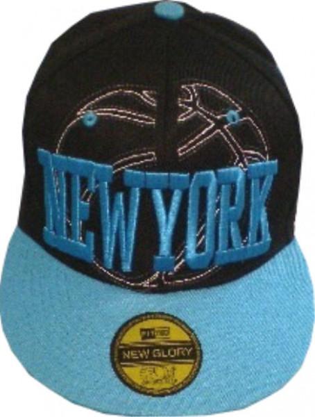 Cap IQ1368 - Basecap - Snapcap mit US-City NEW YORK bestickt