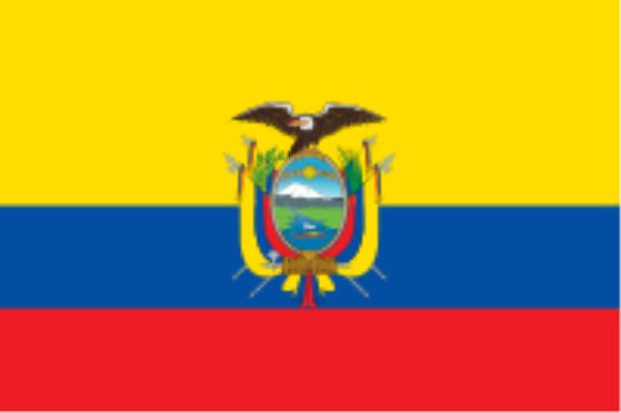 Länderfahne Equador