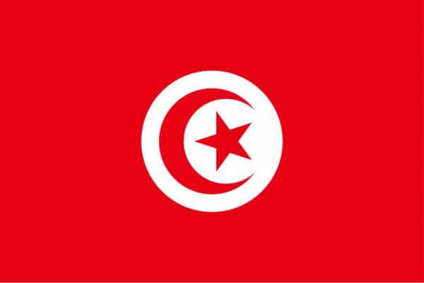 Länderfahne Tunesien