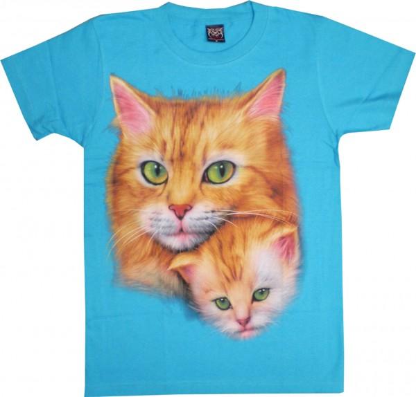 T-Shirt Katzen