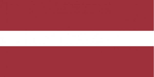 Länderfahne Lettland
