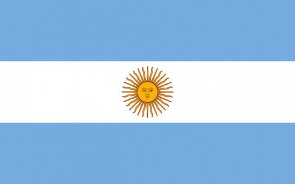 Länderfahne Argentinien