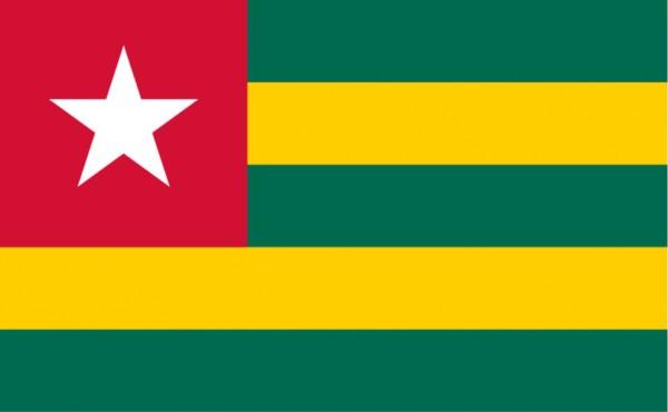 Länderfahne Togo