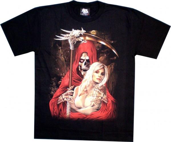 T-Shirt - Sensemann + Frau - Glow in the dark