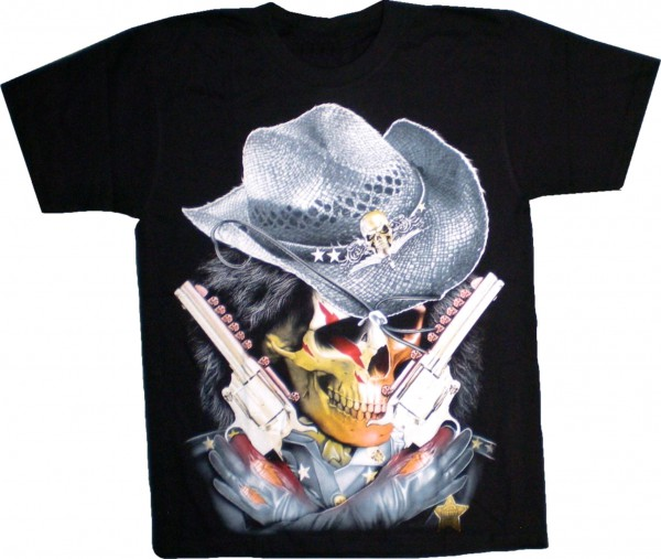 T-Shirt Totenkopf / Skull Sherif