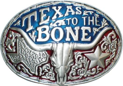 IQ 1052 - Gürtelschnalle Texas Bone