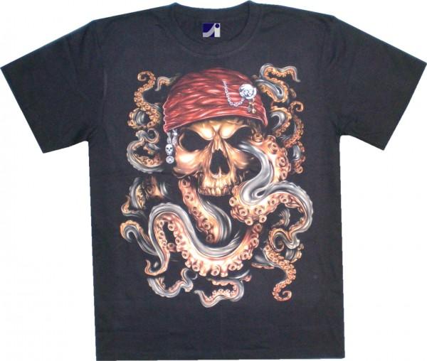 GTS104 - T-Shirt - Pirat - Glow in the dark