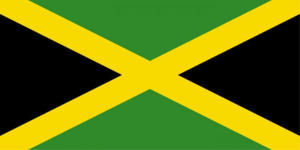 Stockfahne / Stockflagge Jamaika
