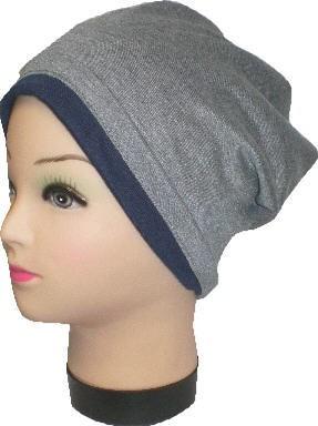 IQ1432.2 - Beanie - Slouch - Mütze - doppellagig für Damen und Herren