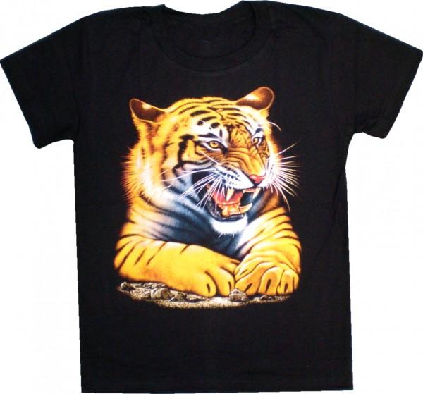 Kinder / Teeny T-Shirt mit Tiger