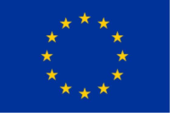 Stockfahne / Stockflagge Europa