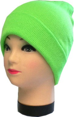 Mütze, Strickmütze in vielen uni-Farben