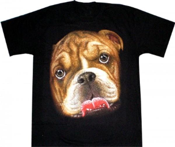 T-Shirt - Hund - Boxer - beidseitig farbig bedruckt