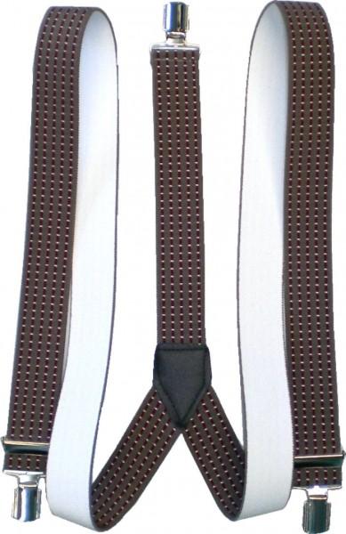 HT35 - Hosenträger - Y-Form - 3 Clips - Streifen