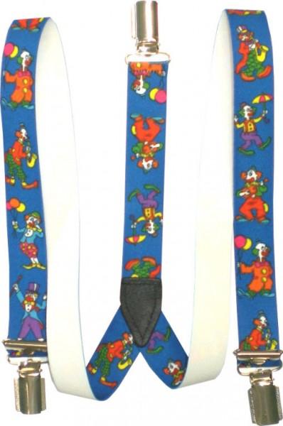 Kinder-Hosenträger - Y-Form - 3 Clips - bedruckt - KHT06