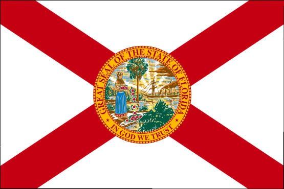 Länderfahne Florida