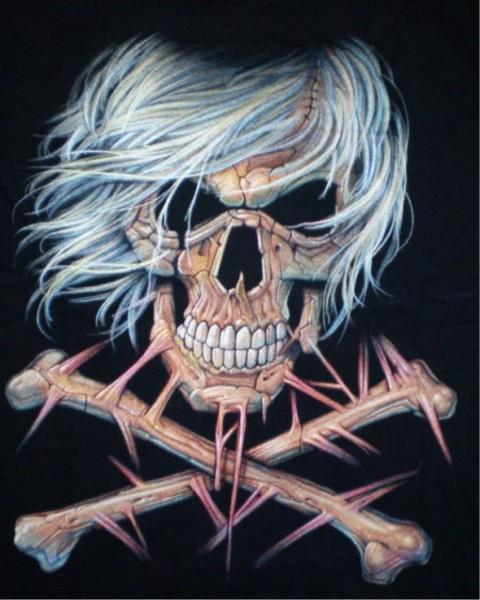 Kinder T-Shirt Skull and Bones