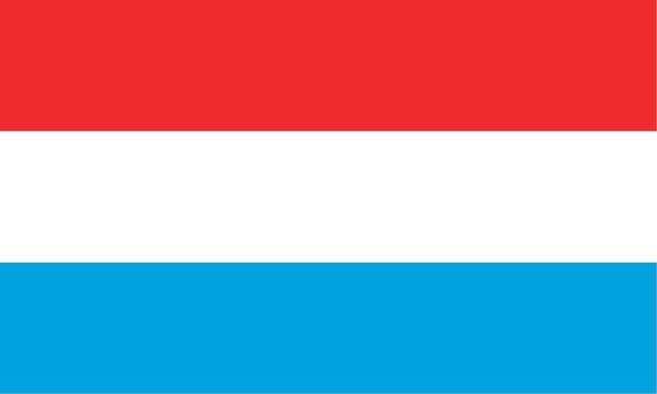 Länderfahne Luxemburg