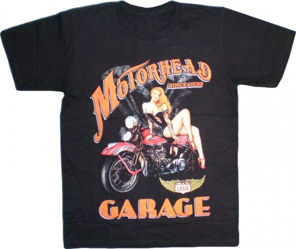 "T-Shirt Bike ""Motorhead Gararge"""