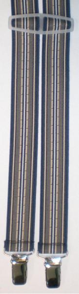 HHT85 - Hosenträger - 4 Clips - H-Form schmal