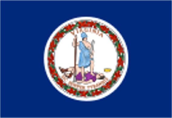 Länderfahne Virginia