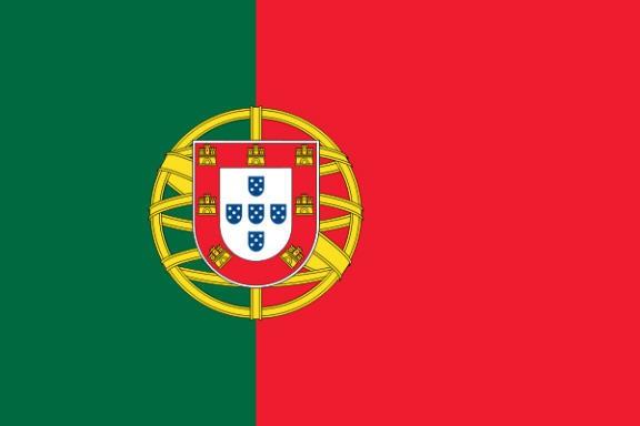 Länderfahne Portugal