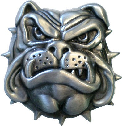 IQ 1254 - Gürtelschnalle Bulldog