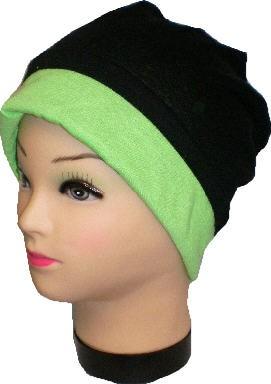 IQ1432.1 - Beanie - Slouch - Mütze - doppellagig für Damen und Herren