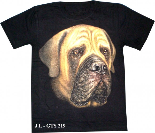 T-Shirt - Hund - Glow in the dark
