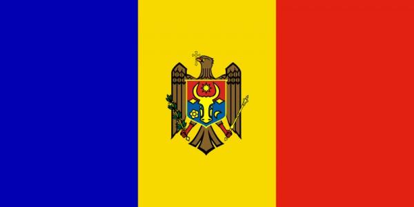 Länderfahne Moldawien