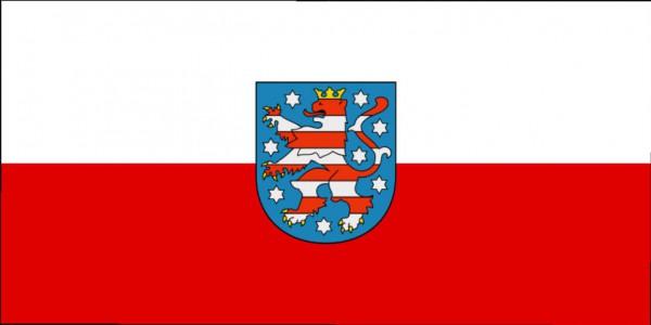 Länderfahne Thüringen