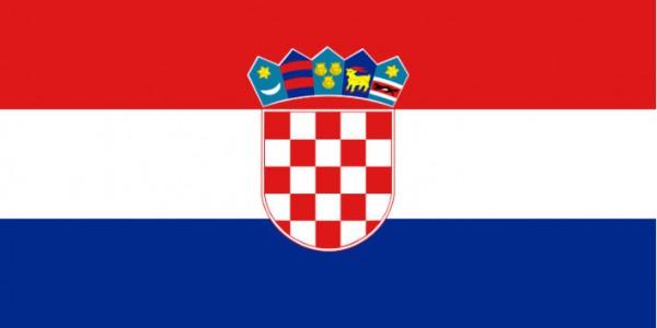 Länderfahne Kroatien