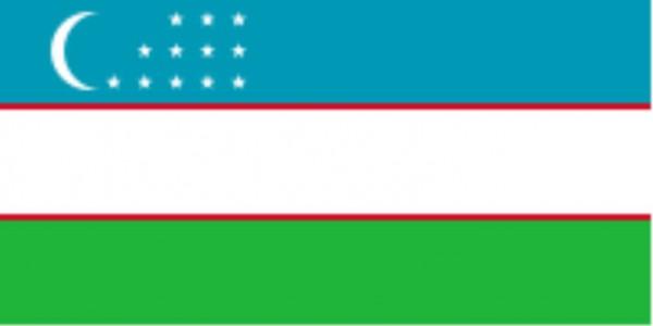 Länderfahne Usbekistan