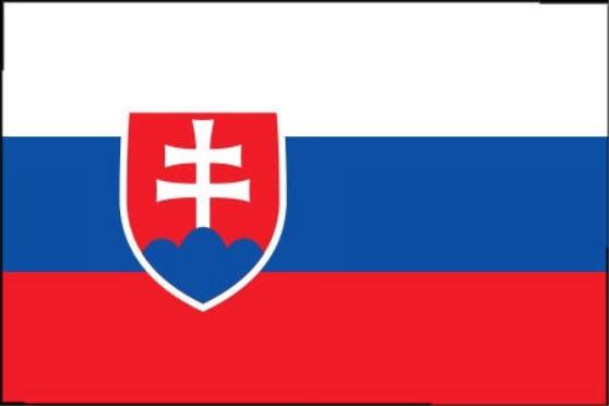 Länderfahne Slowakai
