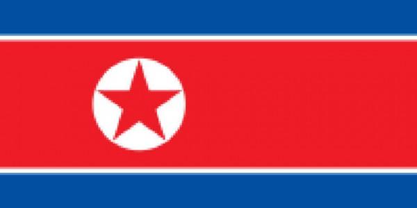 Länderfahne Nordkorea