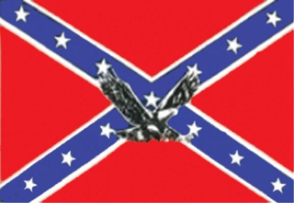 Länderfahne Südstaaten mit Adler