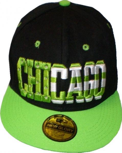 Cap IQ1151 - Basecap - Snapcap mit US-City CHICAGO