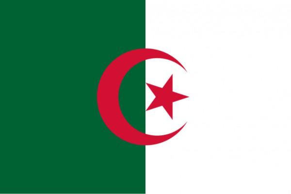 Länderfahne Algerien