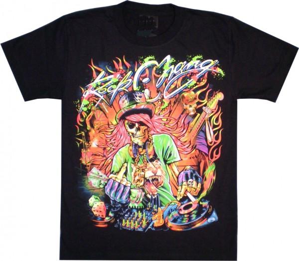 T-Shirt - DJ Rock Chang - beidseitig farbig bedruckt