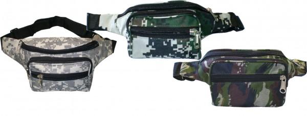 IQ 2101 Gürteltasche, Bauchtasche, Hüfttasche, Geldtasche, Waistbag in 3 Farben