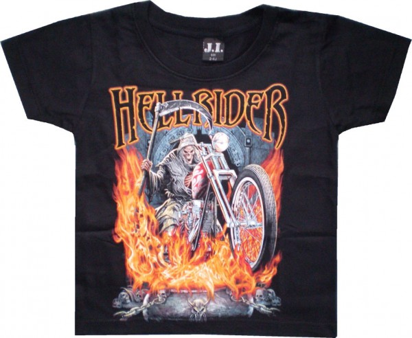 Kinder T-Shirt Hell Rider