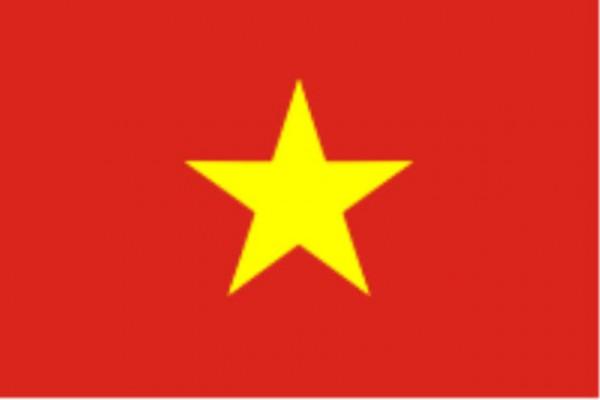 Länderfahne Vietnam