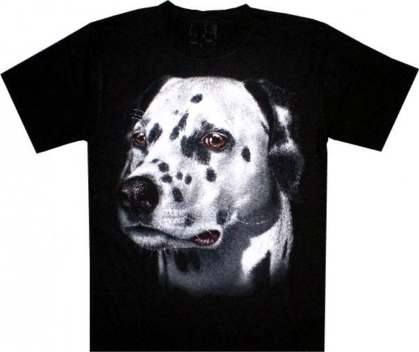 T-Shirt - Hund - Dalmatiner - beidseitig farbig bedruckt