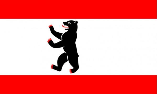 Länderfahne Berlin Bär