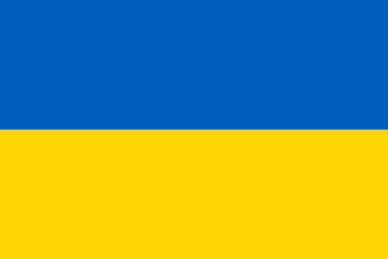 Länderfahne Ukraine