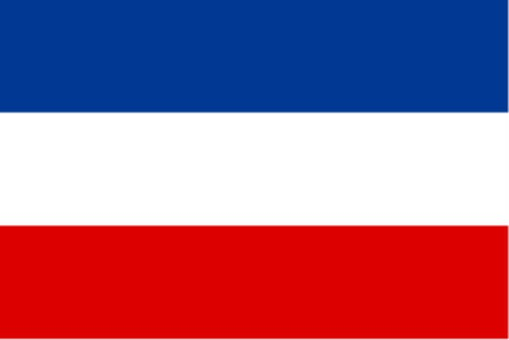Länderfahne Jugoslawien